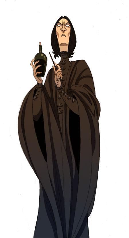 Pr. Severus Snape by kyla79