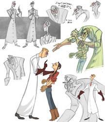Evil Doctor Sketchdump