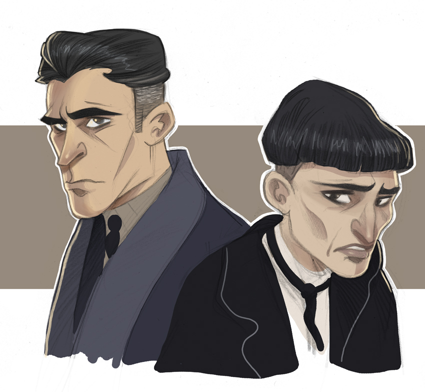 Graves and Credence by kyla79