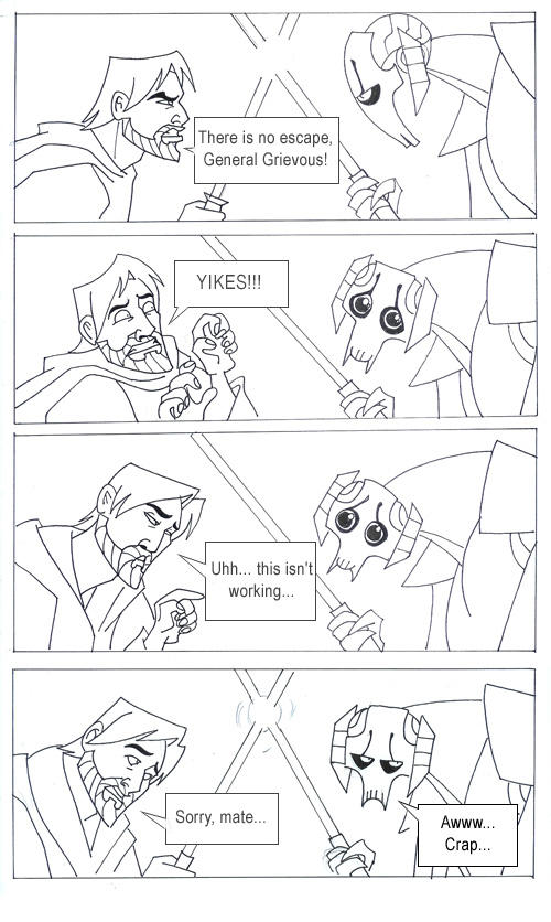Grievous' secret weapon by kyla79