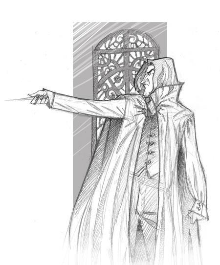 Severus Snape by kyla79