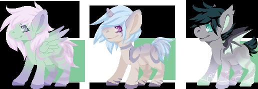 Pony Adopts : Flatsale (OPEN)