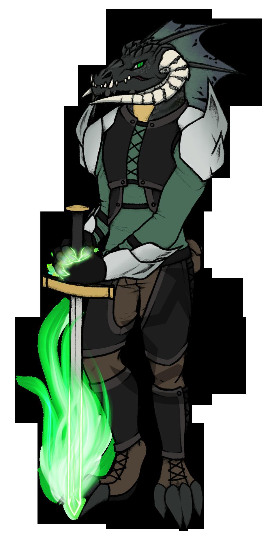 Dragonborn Eldritch Knight Adopt : Flatsale (CLOS)