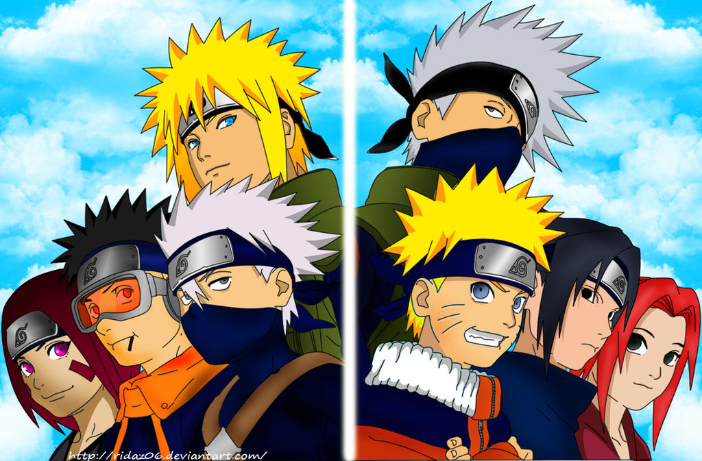 Team Minato And Team K...