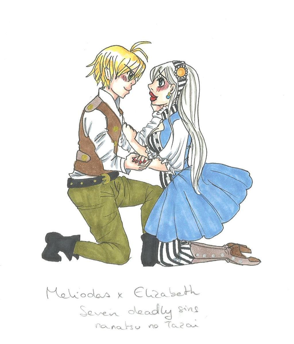 Nanatsu No Taizai: Meliodas x Elizabeth by cherry-o ...