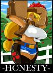Human Applejack by ShoNuff44