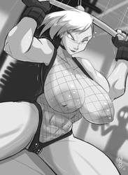 Gilda Pumps Up by greatdragonad