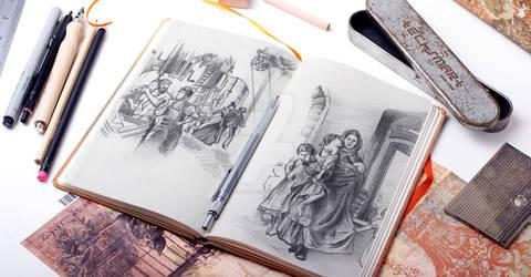 Sketchbook Scribbling