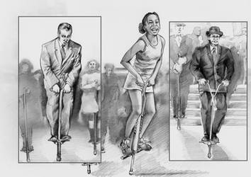 original pogo stick - Graphic