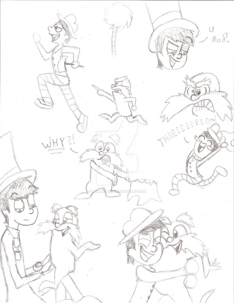 the lorax and once ler sketch dump by leilani lily on deviantart