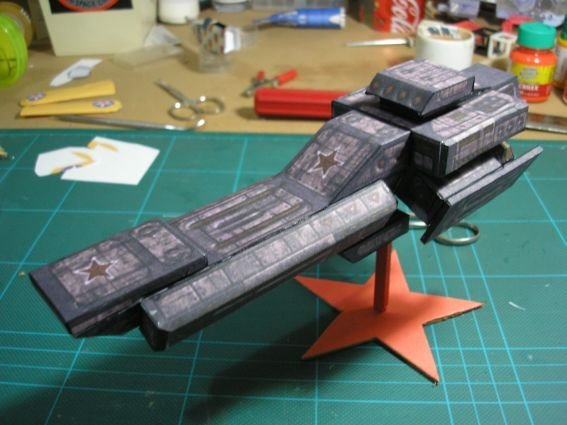 Kurgan Class Destroyer by gomidefilho
