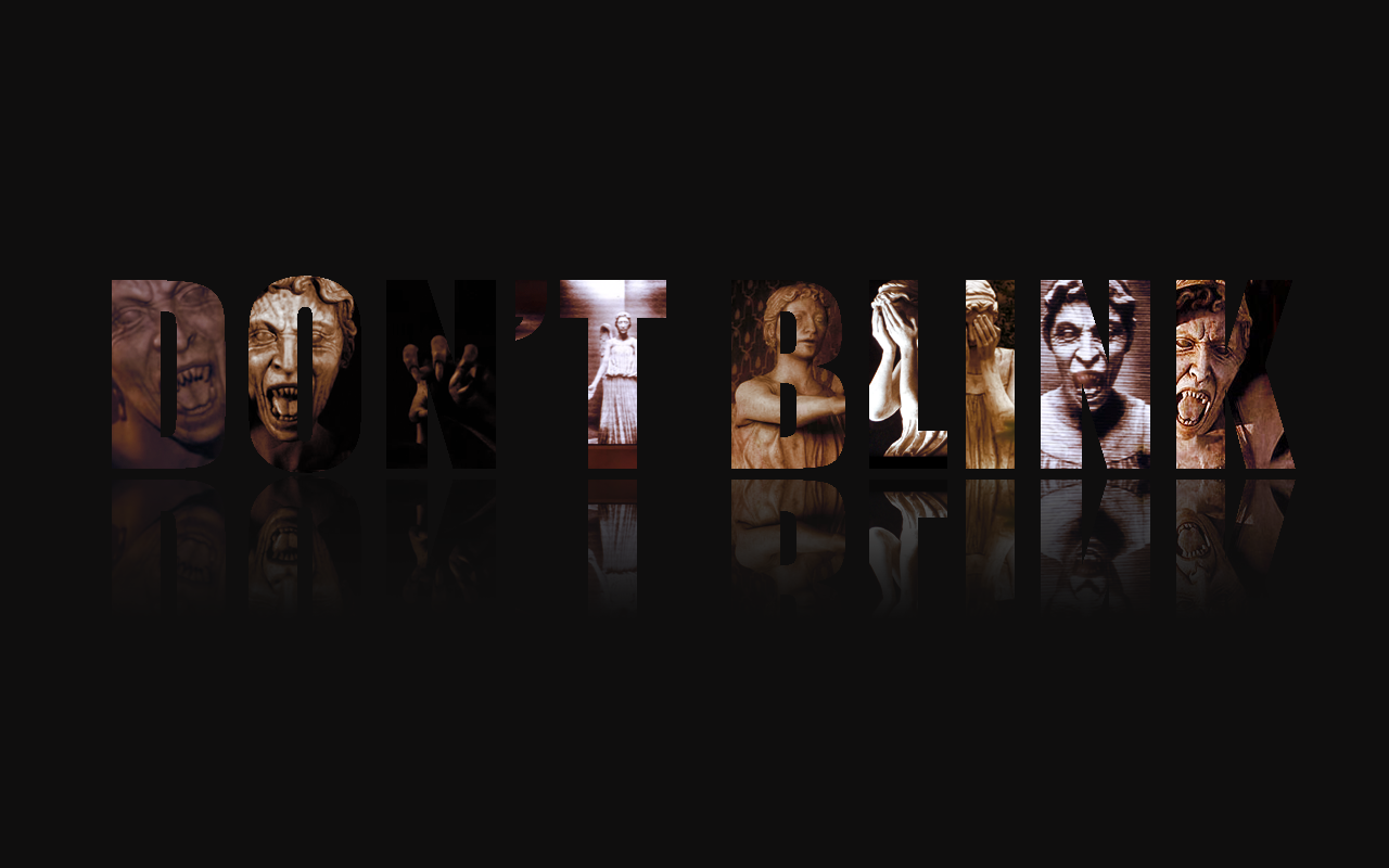 doctor who weeping angels wallpaper