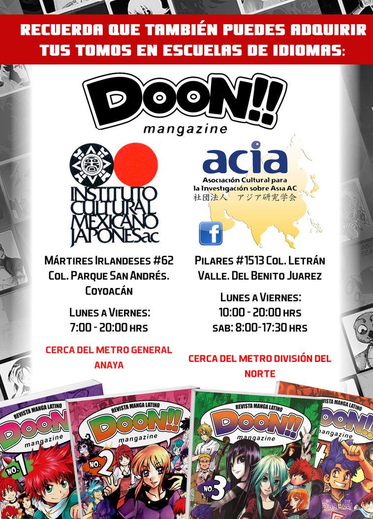 DOON EN ESCUELAS DE IDIOMAS by DoonMangazine