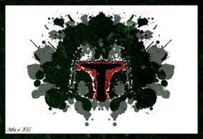 Rorschach's Boba Fett by seba-j