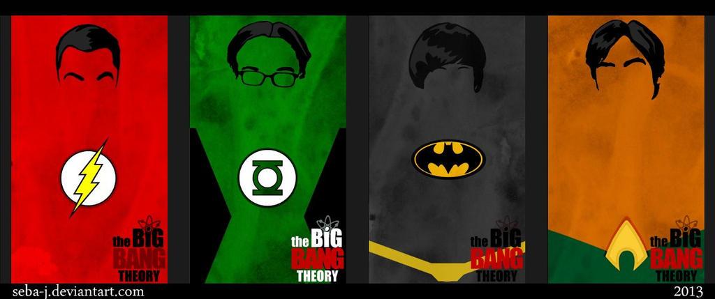 TBBT minimalistic heroes by seba-j
