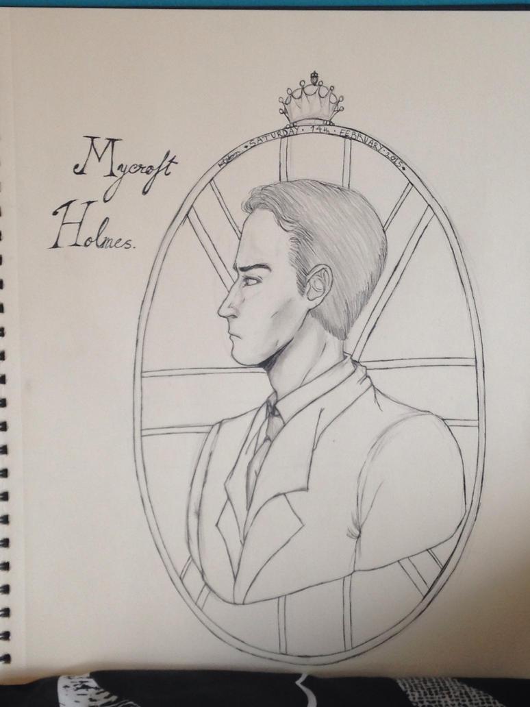 Mycroft Holmes by melvinmivjit