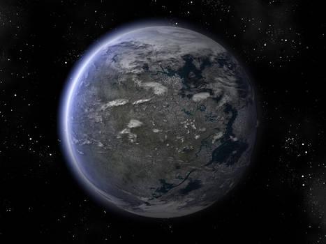 Full 3d planet