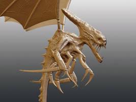 Alien creature W-I-P Detail