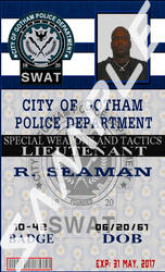 Gotham Police Department (GPD) SWAT by MpulseCreations