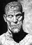 Boris Karloff as The Mummy