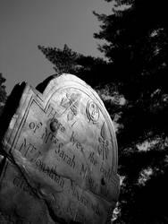 Weathered Headstone