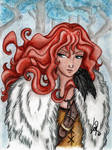 Ygritte, kissed by fire
