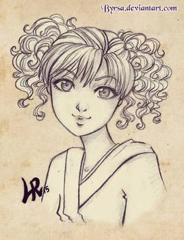 (6) Mimosa sketch
