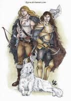 Commission: Halldor y Allan by Byrsa