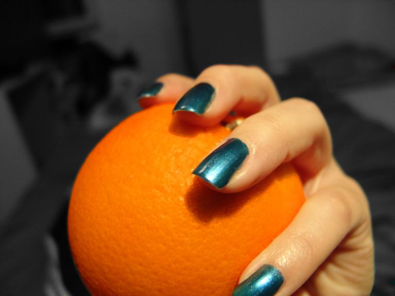 orange handshake by zowey