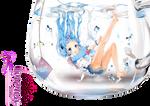 kawai anime girl render By hinamoriemo