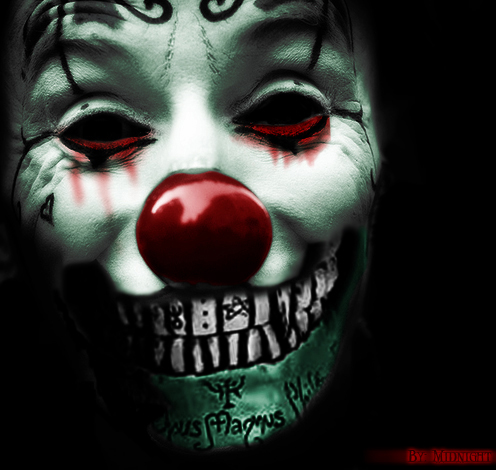 Evil Clown by static17