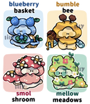 [CLOSED, TY!] sproutlings adopts: forest picnic
