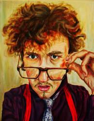 Self-portrait by tom-steve-burns