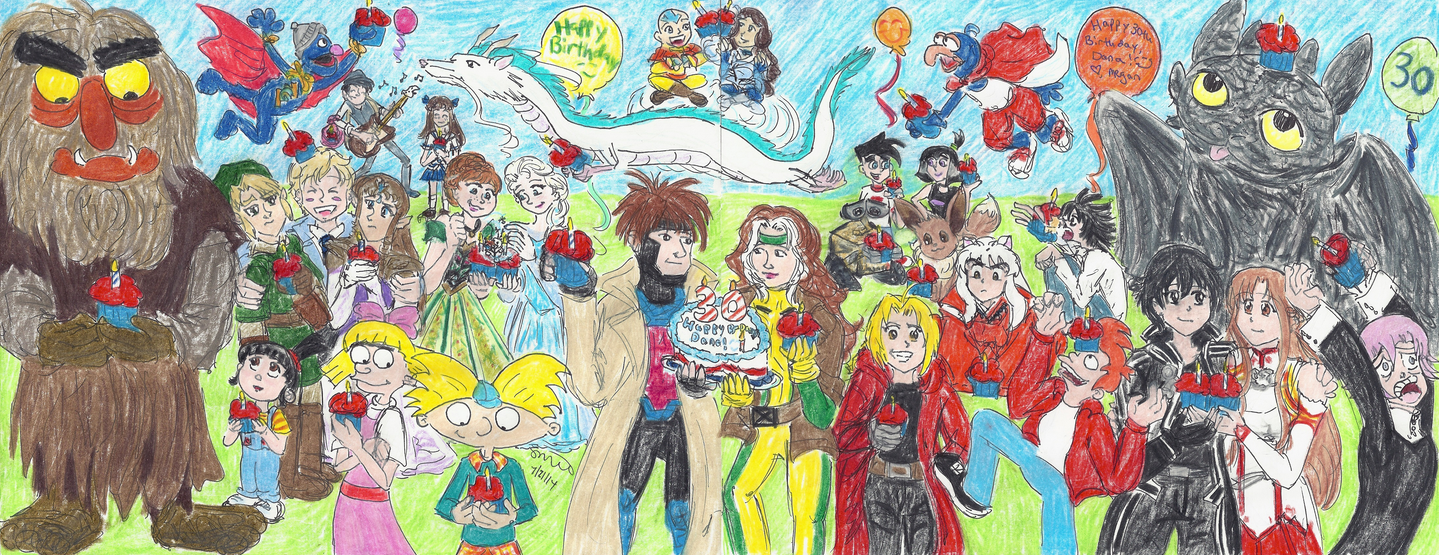 Lyco Rogue's 30th Birthday Party by ChibiSunnie