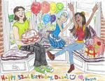 Bay Window Birthday Party