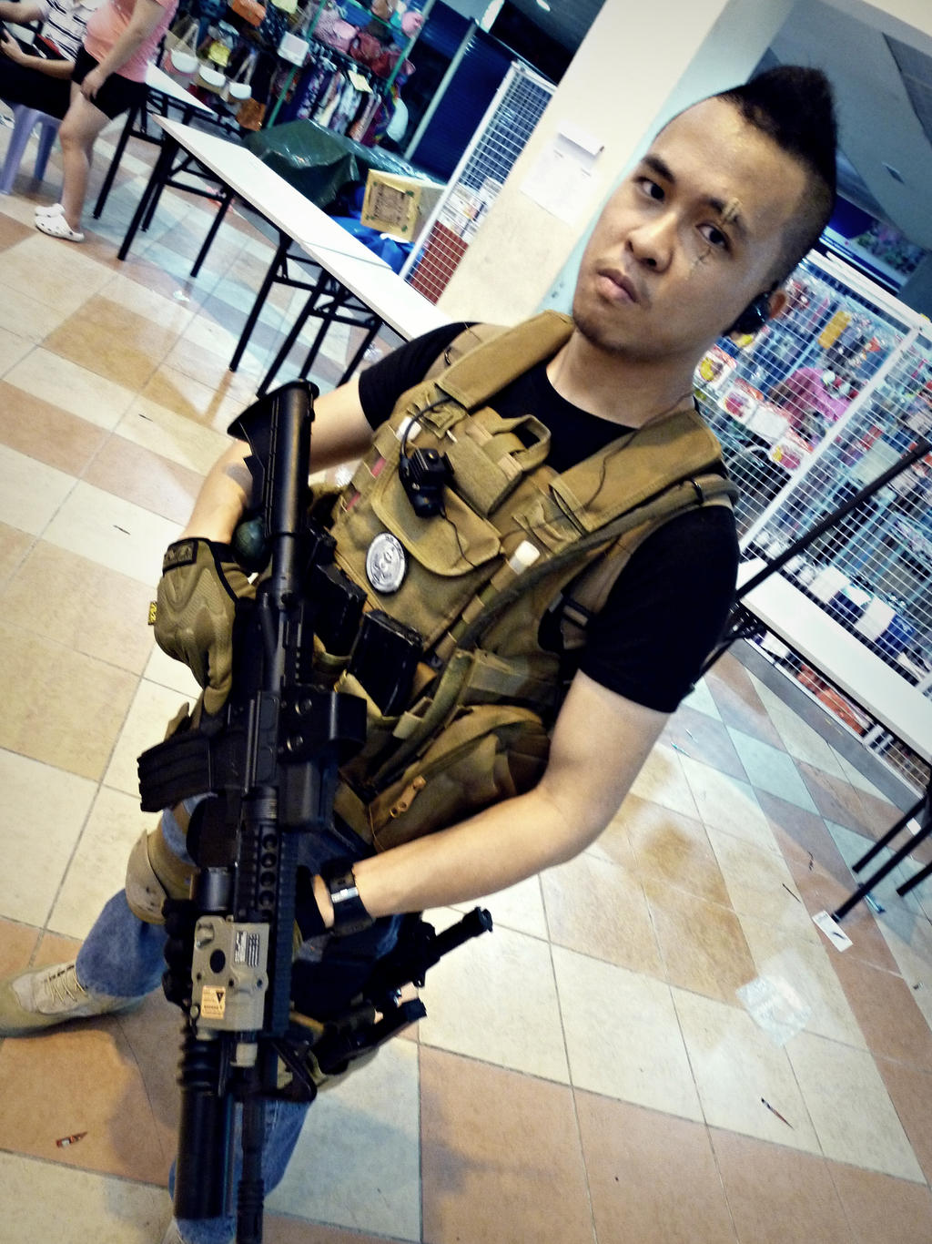 Call of duty mw3 soap mactavish