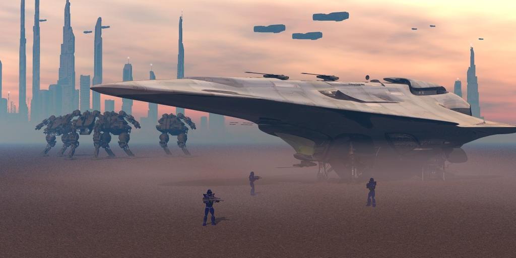 Invasion by oigaitnas