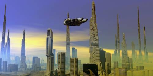 Millenium City by oigaitnas