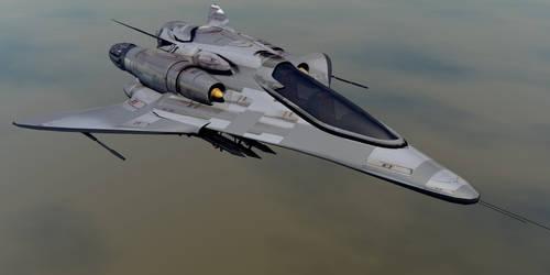 Phantom JS-88 Hybrid Fighter by oigaitnas