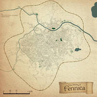 The City of Fennica Map by stevecook23