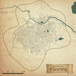 The City of Fennica Map