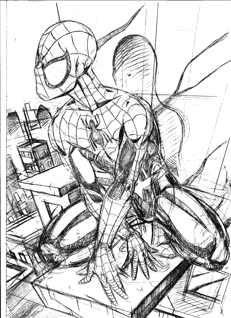 Spiderman drawing by Cortan343 on DeviantArt