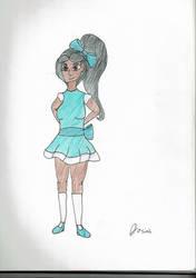Jasmine in a Dress