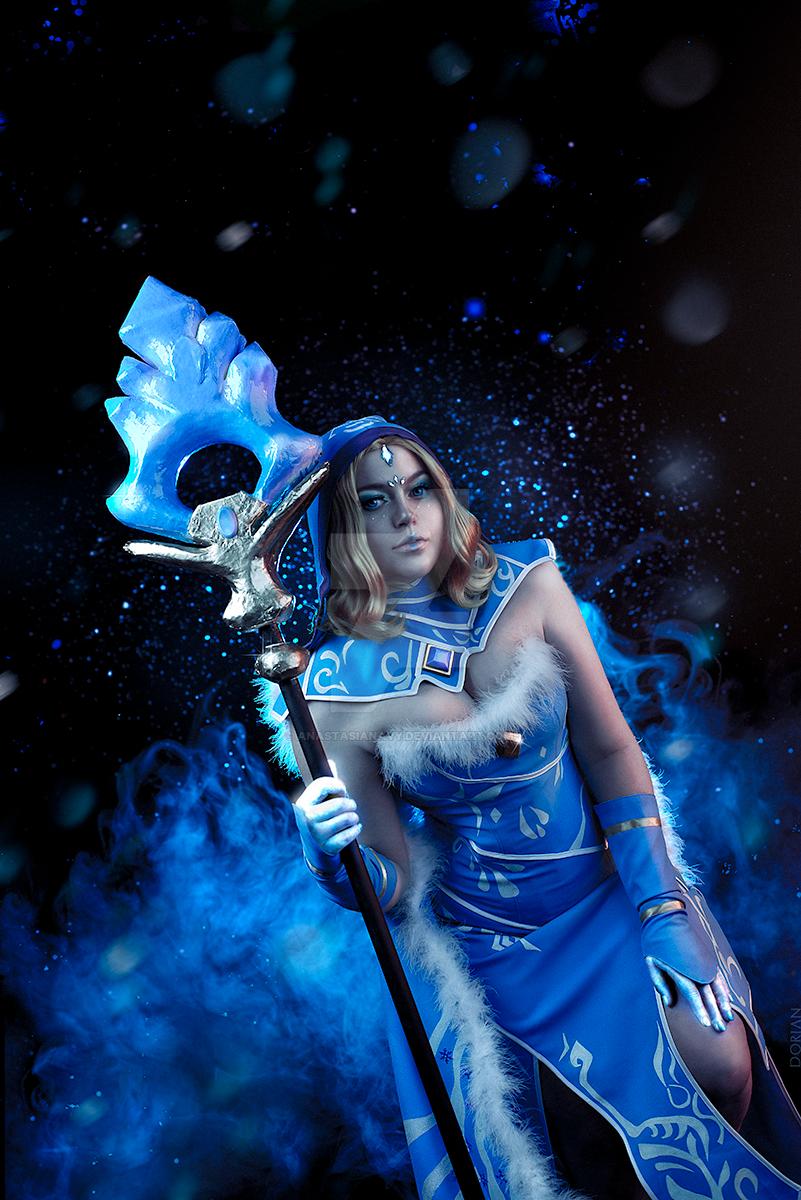 Dota2 Crystal Maiden arcana by AnastasiaNavy on DeviantArt