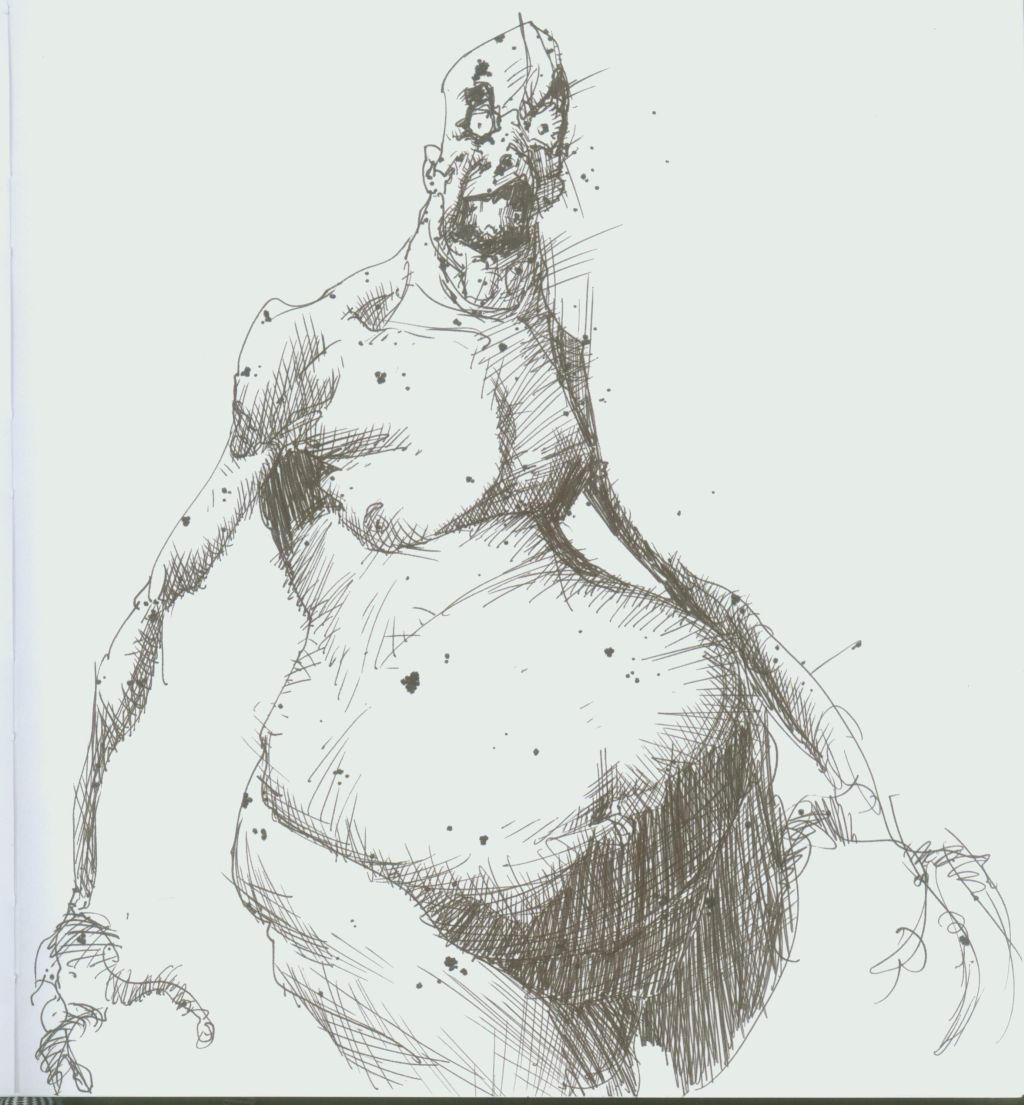weirdo guy by Schooley