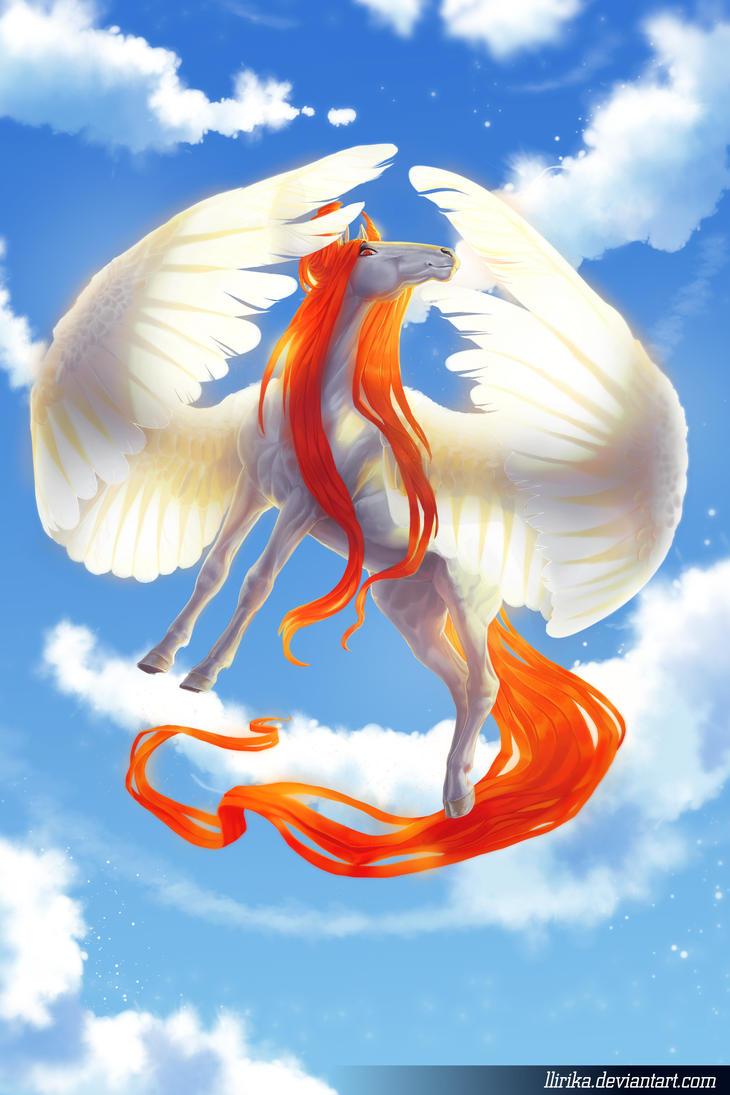 Pegasus by Llirika