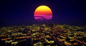 Retro Sunscape