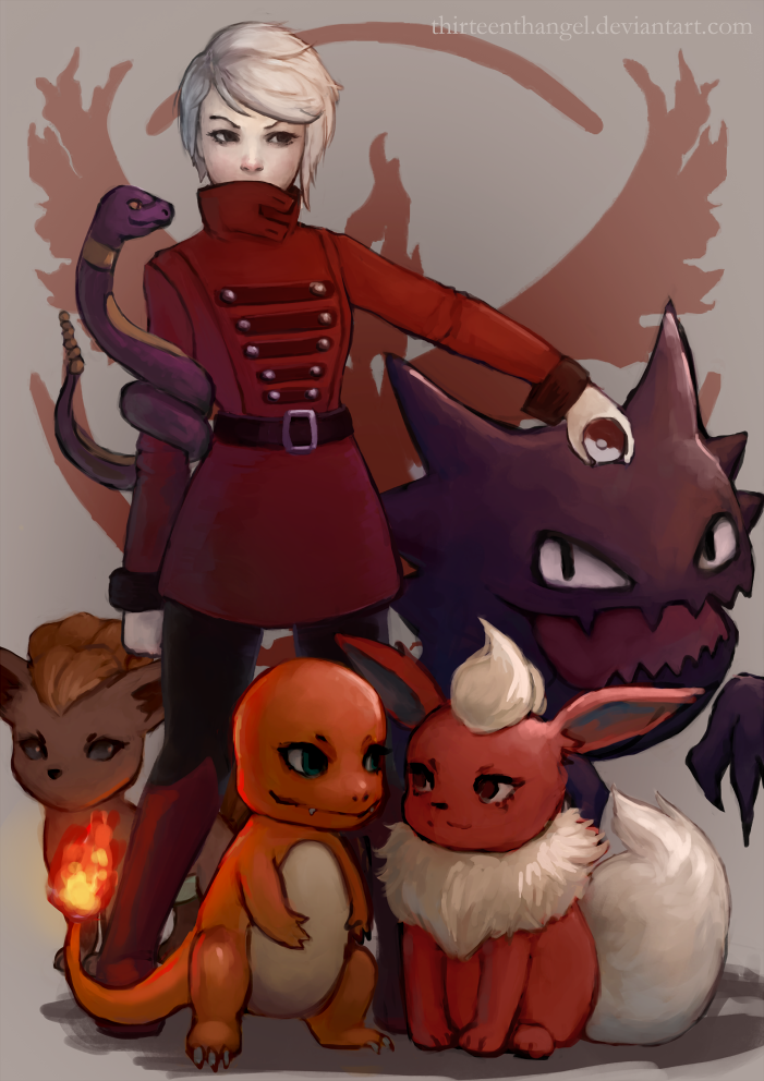 Pokemon go - valor! by thirteenthangel