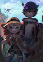 Made In Abyss by thirteenthangel