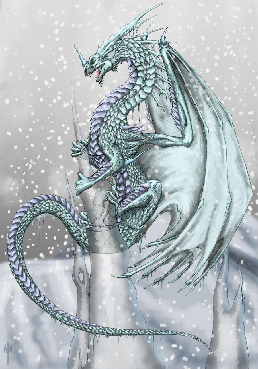 Ice Dragon by Sheranuva
